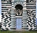 San michele di murato, facciata, con rilievi del 1140 ca. 00.jpg
