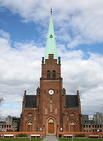 St. John's Church, Copenhagen - The church seen from Sankt Hans Torv