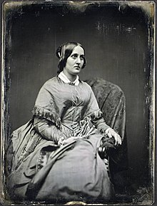 "Sara Jane Lippincott (""Grace Greenwood""), circa 1850"