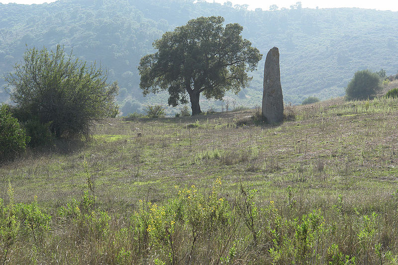 File:Sardinien menhir vor tortoli.jpg