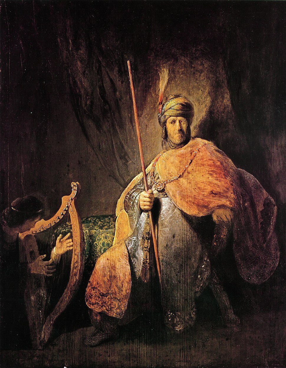 Saul and David rembrandt