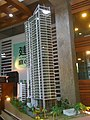 Scale model of the Wongamat Tower.jpg