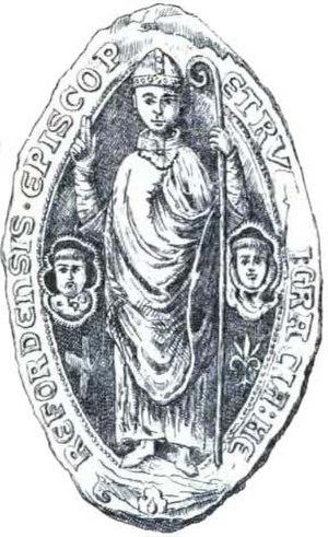 Peter of Aigueblanche - Image: Sceau de pierre d'Aigueblanche évêque d'Hereford