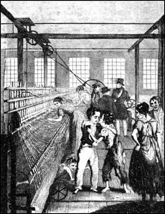 Health and Morals of Apprentices Act 1802 - Image: Scene from Factory Boy