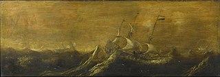 Des navires dans la tempête
