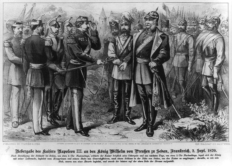 Datei:Schlacht von Sedan Uebergabe des Kaisers.jpg
