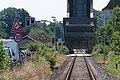 Schleibrücke Lindaunis.Blick vom Bahnübergang Lindaunis.Geöffnete Brücke.ajb.jpg