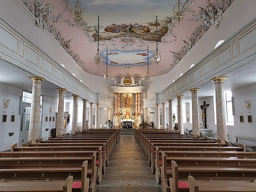 Schlosskirche (Innenraum) im Alten Schloss Bayreuth