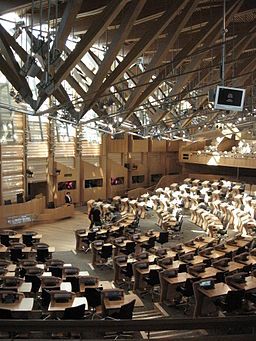 Scottish Parliament Building (Inside View)