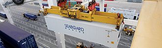 Seaboard Corporation - Seaboard Marine refrigerated container