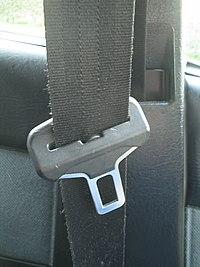 Three point seat belt, Citroen BX