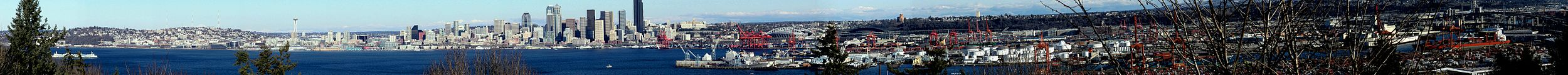 Seattle'i panoraam