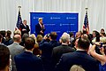 Secretary Kerry, joined by Ambassador Kelly, Addresses Staff and Family Members from Embassy Tbilisi (27530060414).jpg