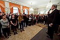 Secretary Kerry Addresses Employees of the U.S. Missions to Belgium and to the European Union at the U.S. Ambassador's Residence in Brussels (26879615390).jpg