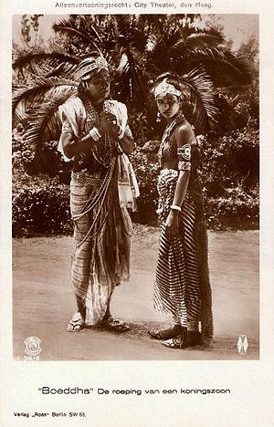 Seeta Devi and Himansu Rai in Prem Sanyas (2).jpg