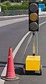 Semaforo en ambar - Traffic light at yellow state - 01.jpg