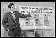 Senator Kennedy speaks on health services