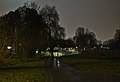 Senypark at night in December, looking North from the South end.jpg
