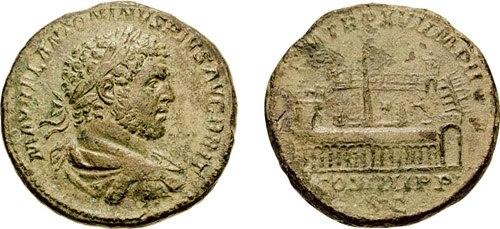 Sestertius-Caracalla-Circus Maximus-RIC 0500a