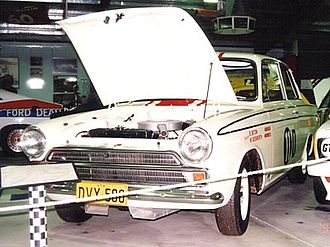 Midge Bosworth - The Ford Cortina GT500 in which Bosworth and Barry Seton won the 1965 Armstrong 500 at Bathurst