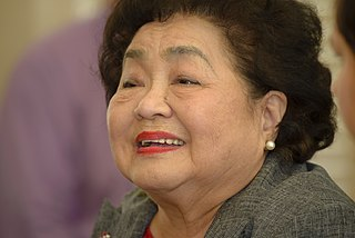 Setsuko Thurlow Japanese anti–nuclear weapons activist