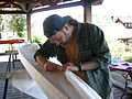 Sewing a kayak hull.jpg