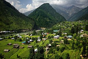 Sharda, Azad Kashmir - Image: Sharda village