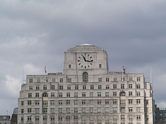 DK (publisher) - DK's London office is at Shell Mex House, 80 Strand, a 1930s Art Deco building easily recognisable from the River Thames by its distinctive clock.