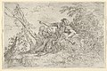 Shepherd holding a flute and two other figures in a landscape MET DP836206.jpg