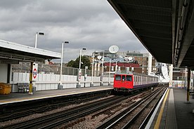 Shepherds Bush station, HandC line - geograph.org.uk - 562064.jpg