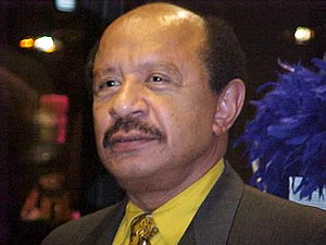 Sherman Hemsley - Sherman Hemsley in December 1999
