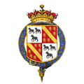 Shield of arms of Anthony Ashley-Cooper, 7th Earl of Shaftesbury, KG.png