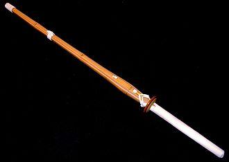 Shinai - A shinai made of bamboo