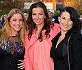 Shirley Clamp, Sonja Aldén and Jill Johnson in 2013.jpg