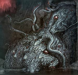 Shoggoth - An artist's rendition of a shoggoth.