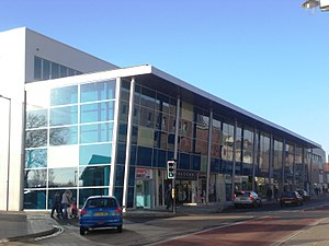 Newport, Isle of Wight - New Redevelopment of the old bus station.