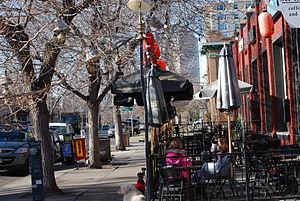 City Park West, Denver - Shops on 17th and Race St, City Park West, Denver, CO