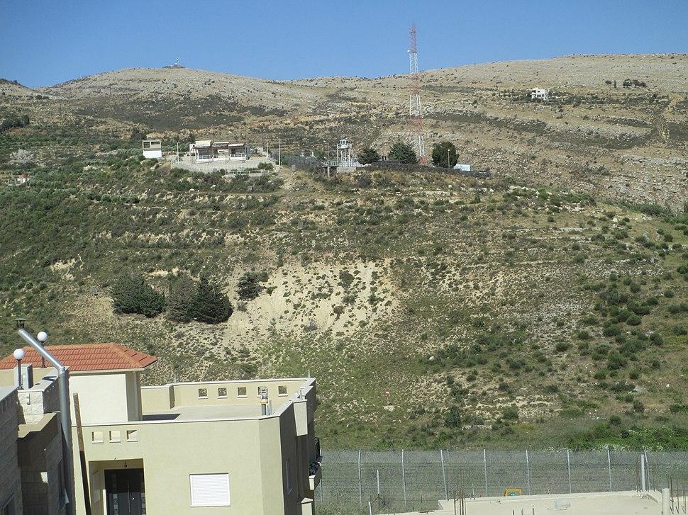 Shouting Hill by Majdal Shams