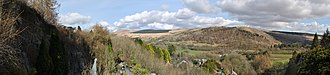 Brecon Beacons National Park - Image: Show Caves Panorama