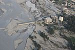 Shown here Aug. 21, 2010, is flood damage as seen from a U.S. Navy MH-53E Sea Dragon helicopter from Helicopter Mine Countermeasures Squadron (HM) 15, Detachment 2 during humanitarian relief efforts 100821-M-ZG155-098.jpg