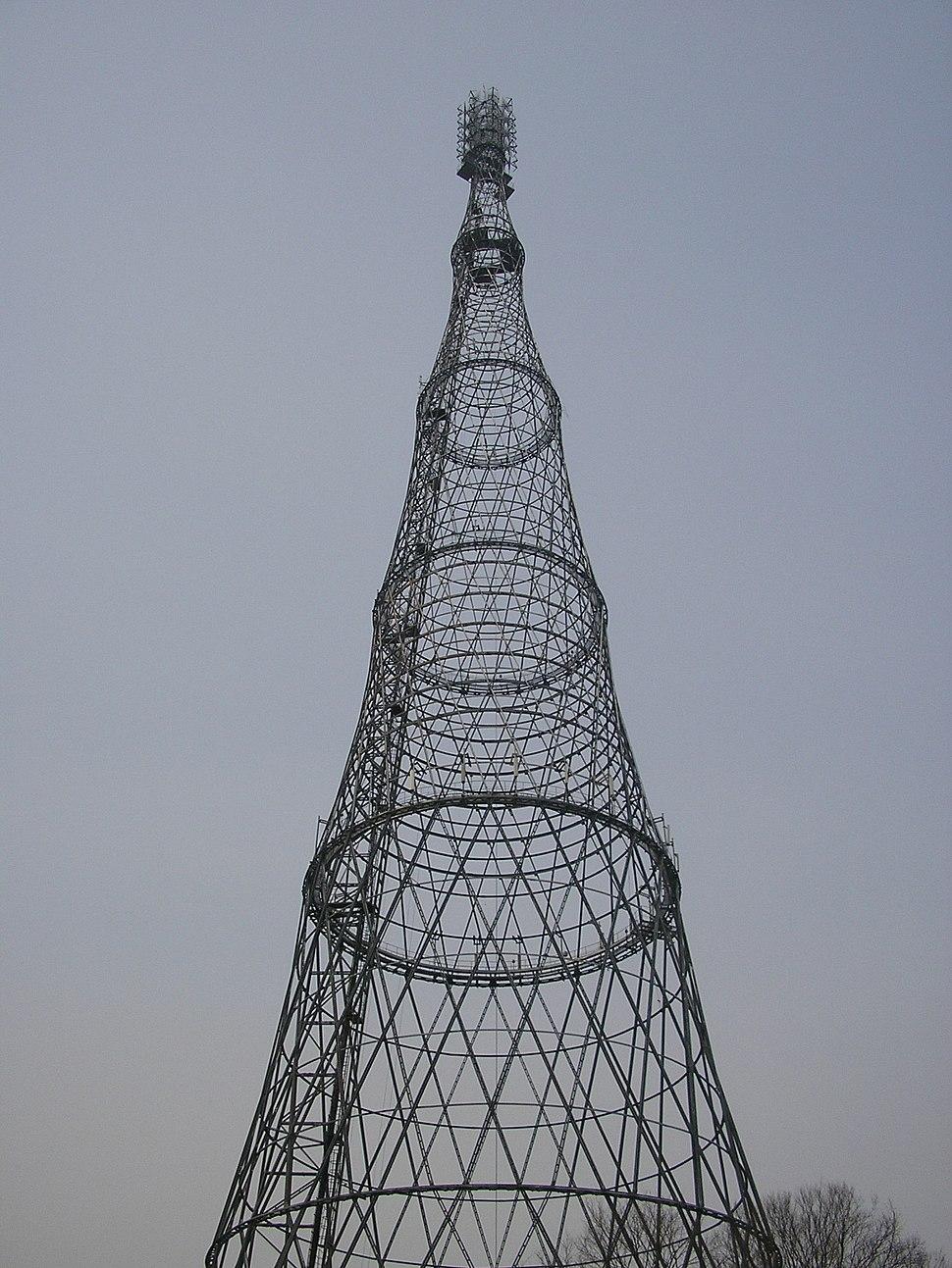 Shukhov Tower photo by Sergei Arsenyev 2006