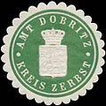Siegelmarke Amt Dobritz Kreis Zerbst W0367911.jpg