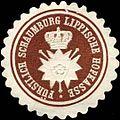 Siegelmarke Fürstl. Schaumburg Lippische Hofkasse W0309069.jpg