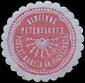 Siegelmarke Gemeinde Petersdorf II W0343778.jpg