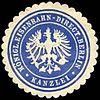 Siegelmarke Königliche Eisenbahn - Direction Berlin - Kanzlei W0229453.jpg