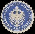 Siegelmarke K. Marine Kommando S.M.S. Kronprinz W0357618.jpg