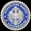Siegelmarke Kaiserliche Marine - 3. Küstenbezirk W0239773.jpg