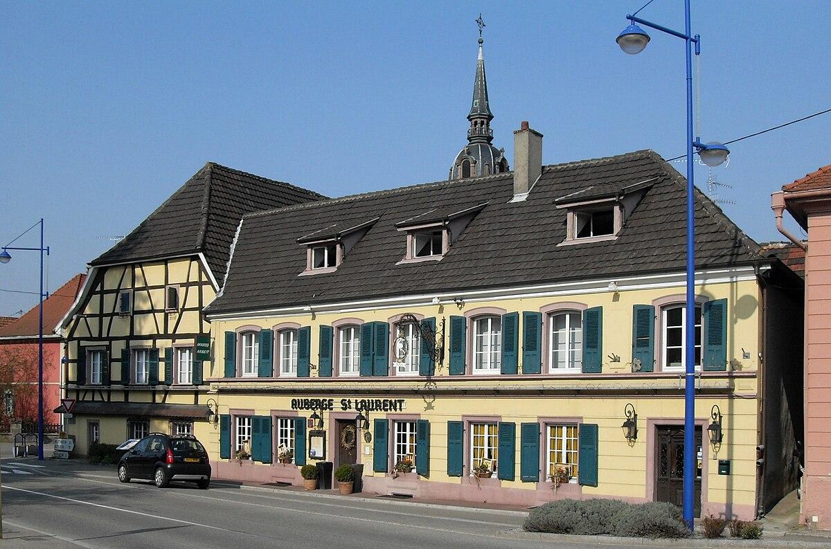Aubrrge Saint Laurent Ssoys Coiron Restaurant
