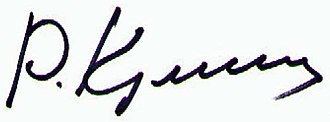 Rasul Guliyev - Image: Signature Rasul Guliyev