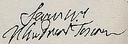 Signature of Gian Gastone de' Medici, Grand Duke of Tuscany (The Most Serene Grand Duke).png